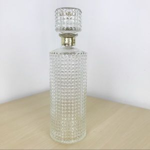 Vintage 1950's Hollywood glam decanter bottle